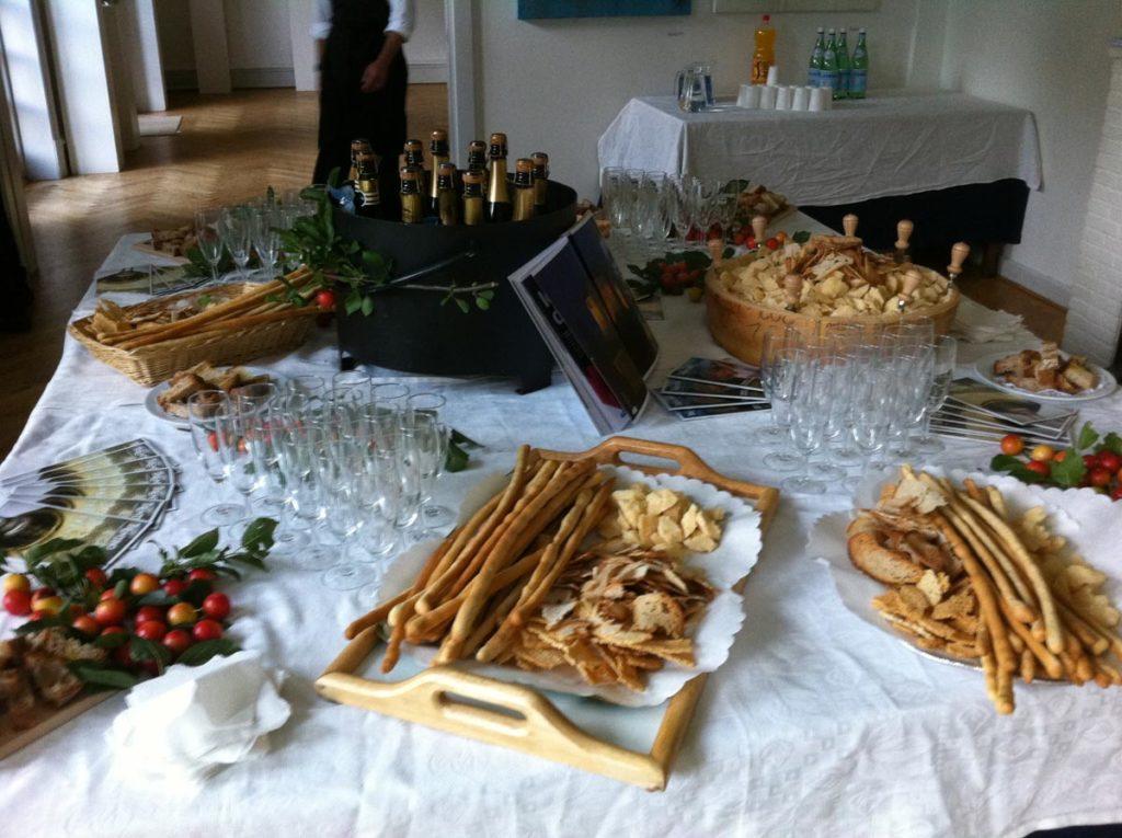 buffet sfoglie 1024x765 - Catering für Veranstaltungen